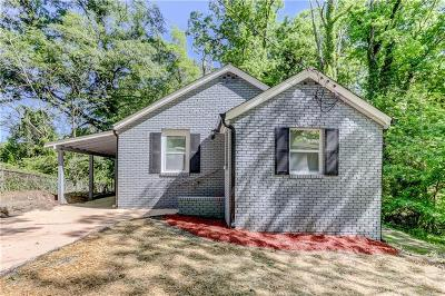 Atlanta Single Family Home For Sale: 1591 Willis Street NW