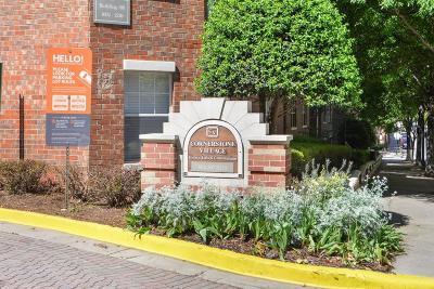 Atlanta Condo/Townhouse For Sale: 800 Peachtree Street NE #1320