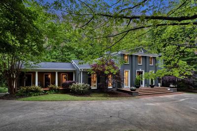 Marietta Single Family Home For Sale: 667 Hampton Place SW