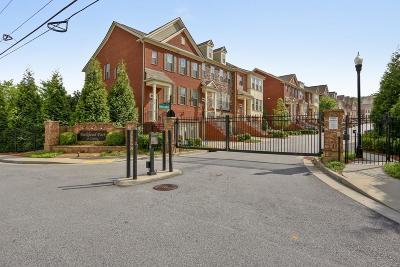 Atlanta Condo/Townhouse For Sale: 2548 Sibley Drive