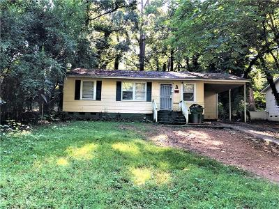 Atlanta Single Family Home For Sale: 3060 Waters Road SW