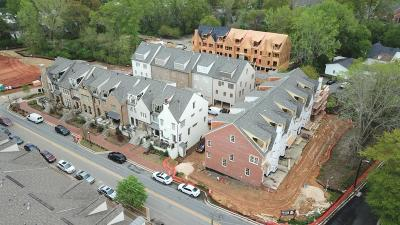 Alpharetta Condo/Townhouse For Sale: 126 Lily Garden #23