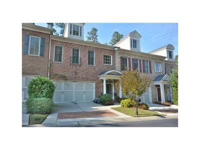 Johns Creek Condo/Townhouse For Sale: 10522 Bent Tree View