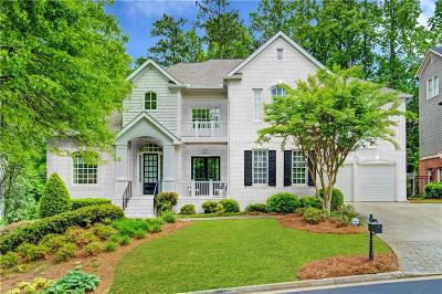 Sandy Springs Single Family Home For Sale: 730 Lake Summit Drive