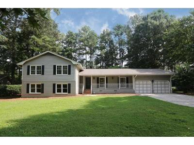 Brookhaven Single Family Home For Sale: 3487 Stratfield Drive NE