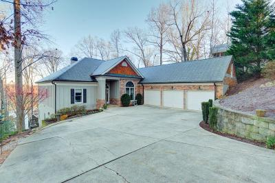 Forsyth County Single Family Home For Sale: 6595 Happy Hollow Trail
