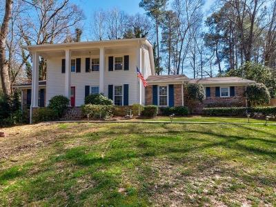 Atlanta Single Family Home For Sale: 2062 Street Deville NE