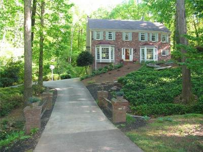 Marietta Single Family Home For Sale: 1177 Forest Brook Court