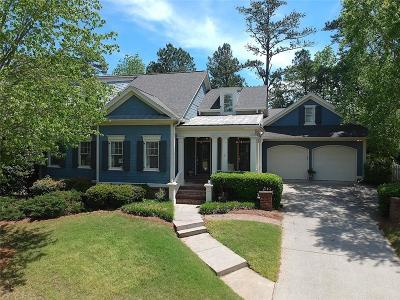 Suwanee Single Family Home For Sale: 962 Allen Lake Path NW