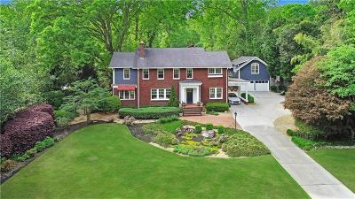 Druid Hills Single Family Home For Sale: 1020 Springdale Road NE