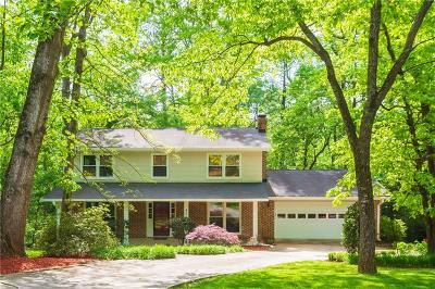 Dunwoody Single Family Home For Sale: 4520 Sharon Valley Court