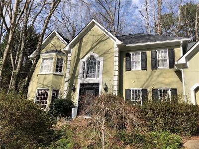 Alpharetta Single Family Home For Sale: 615 Wintergate Court