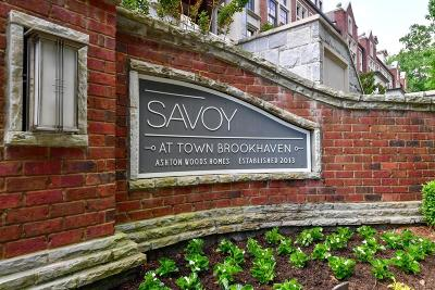Brookhaven Condo/Townhouse For Sale: 1290 Edmund Lane NE