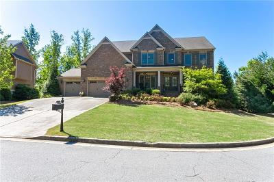 Marietta Single Family Home For Sale: 1350 Hilltop Overlook Drive