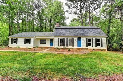 Alpharetta Single Family Home For Sale: 180 Pruitt Drive