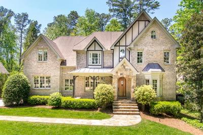 Brookhaven Single Family Home For Sale: 3000 Mabry Road NE