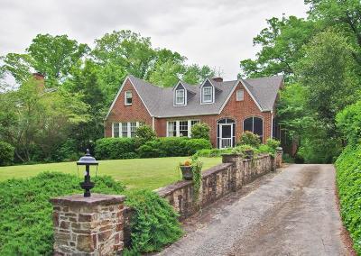 Druid Hills Single Family Home For Sale: 1729 E Clifton Road NE