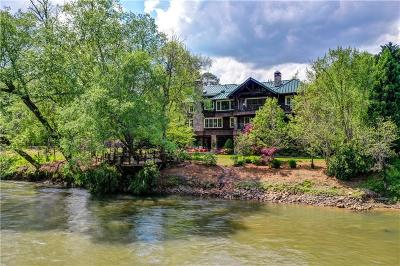 Cherokee County, Cobb County, Paulding County Single Family Home For Sale: 3999 Paces Ferry Drive SE