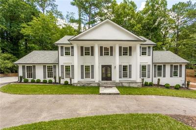 Dunwoody Single Family Home For Sale: 4933 Vernon Oaks Drive