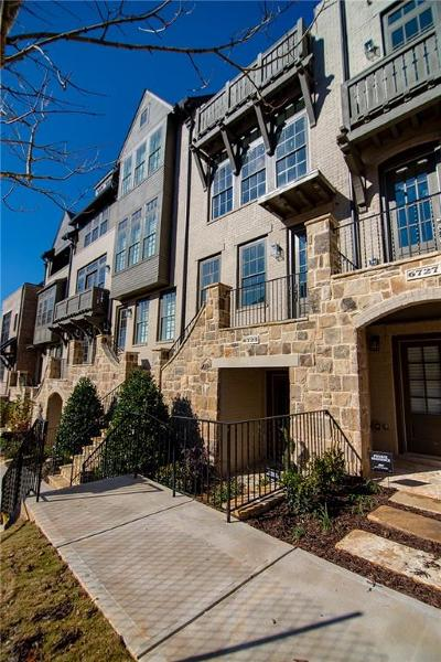 Sandy Springs Condo/Townhouse For Sale: 6723 Encore Boulevard