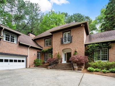 Sandy Springs Single Family Home For Sale: 6105 River Chase Circle