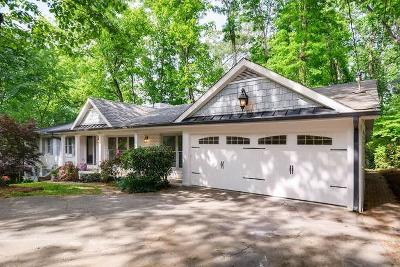 Sandy Springs Single Family Home For Sale: 6635 Williamson Drive