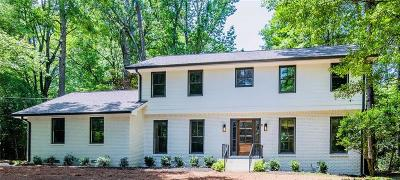 Dunwoody Single Family Home For Sale: 1187 Verdon Drive