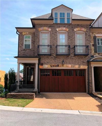 Vinings Condo/Townhouse For Sale: 3887 Paces Lookout Drive SE #16