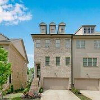 Smyrna Condo/Townhouse For Sale: 315 Benson Manor Circle SE #16
