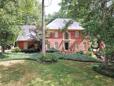 Marietta Single Family Home For Sale: 3615 Sope Creek Farm SE