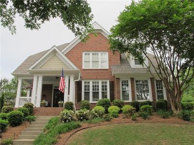 Suwanee Single Family Home For Sale: 5104 Dovecote Trail