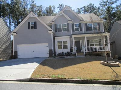 Acworth Single Family Home For Sale: 47 Harmony Grove Parkway