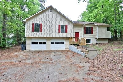 Kennesaw Single Family Home For Sale: 3740 Stonewall Drive NW