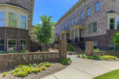 Druid Hills Condo/Townhouse For Sale: 1244 Virginia Court NE