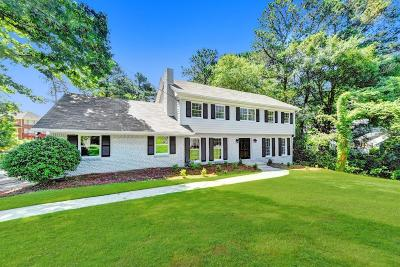 Dunwoody Single Family Home For Sale: 1757 North Springs Drive