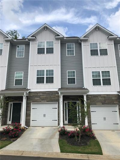 Kennesaw Condo/Townhouse For Sale: 183 Plaza Park Walk