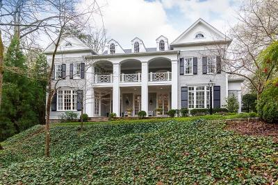 Sandy Springs Single Family Home For Sale: 5050 Jett Forest Trail