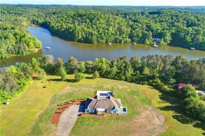 Bartow County, Cherokee County, Coweta County, Dawson County, Fannin County, Fayette County, Forsyth County, Gilmer County, Hall County, Newton County, Paulding County, Rockdale County, Walton County Single Family Home For Sale: 5609 Old Wilkie Road