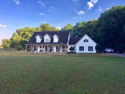 Monroe Single Family Home For Sale: 475 Pleasant Valley Road NE
