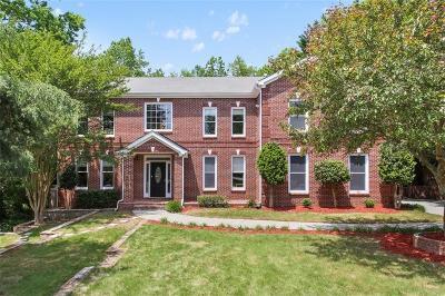 Dunwoody Single Family Home For Sale: 5256 Fleur De Lis Court