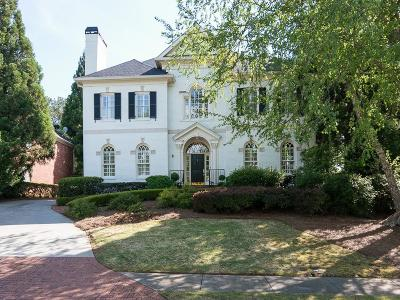 Druid Hills Single Family Home For Sale: 1814 Grist Stone Court NE