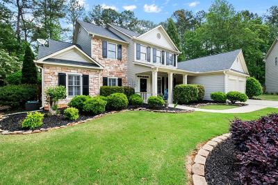 Powder Springs Single Family Home For Sale: 5201 Amberton Pass