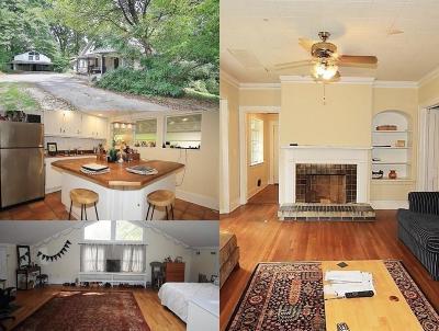 Atlanta Single Family Home For Sale: 1762 Springer Street NW
