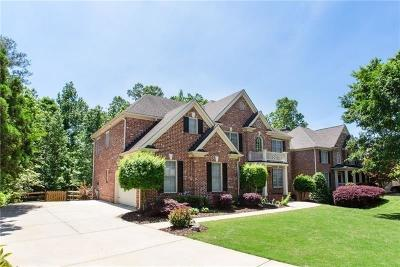 Kennesaw Single Family Home For Sale: 1531 Menlo Drive NW