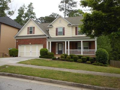 Snellville Single Family Home For Sale: 3747 Valley Bluff Lane