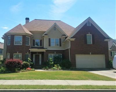 Buford Single Family Home For Sale: 3910 Creek Rock Court