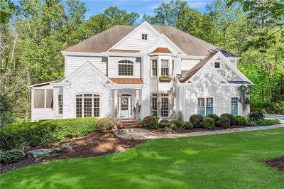 Milton Single Family Home For Sale: 225 Blackrock Trace