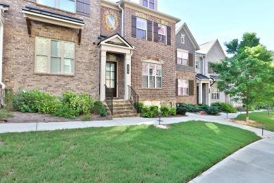 Smyrna Condo/Townhouse For Sale: 4379 Strand Drive SE