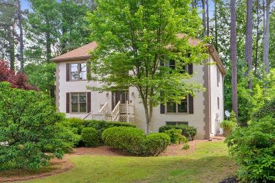 Kennesaw Single Family Home For Sale: 192 Lakeside Drive NW