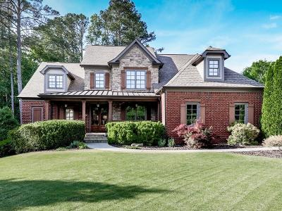 Kennesaw Single Family Home For Sale: 4055 Abbey Oaks Lane NW